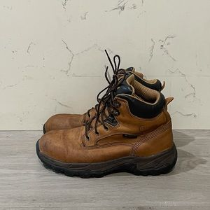 "Chippewa 55160 6"" Brown Leather Waterproof Boots"